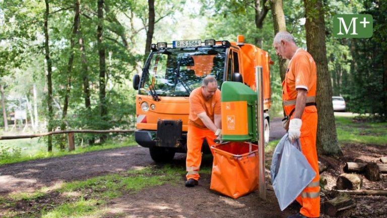 انتظار می رود BSR حتی پارکهای بیشتری را در برلین پاکسازی کند