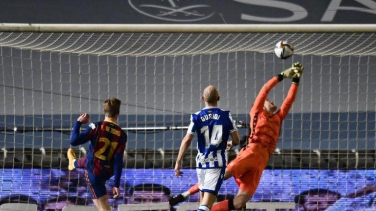 بارسلونا بدون ضربات پنالتی مسی در فینال سوپرجام