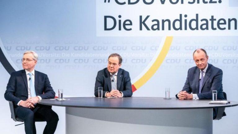 ریاست CDU: نامزدها اختلافاتی را در حفاظت از آب و هوا نشان می دهند