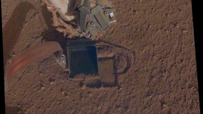 Mole در حال تکمیل پروژه حفاری خود در مریخ است