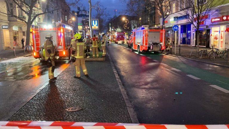 U-Bahn: U9 پس از آتش سوزی مدت طولانی قطع می شود