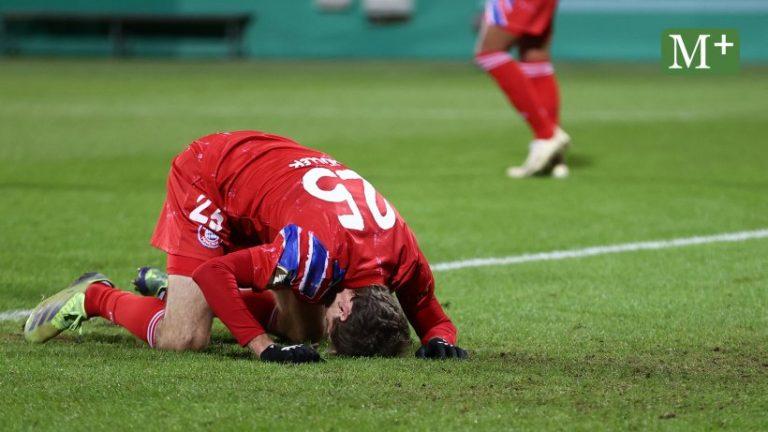 بایرن پس از اوس در جام DFB در شوک