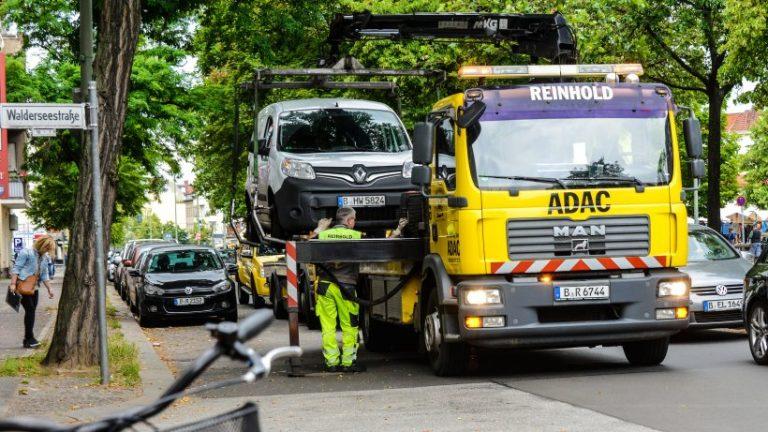 مجرمان پارکینگ به میزان قابل توجهی کمتر در برلین جلب می کنند